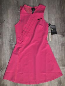Nike Court Maria Sharapova Tennis Dress Pink CK7996-616 Women's XS Extra Small