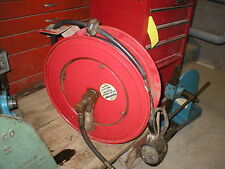 "National Spencer 1/2"" x 50' Open-Type Oil Hose Reel"