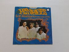 MONKEES  IT'S NICE TO BE WITH YOU/ D W WASHBURN 45 W/PIX SLEEVE