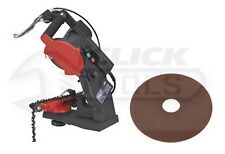 Sealey SMS2002C Chainsaw Cutting Blade Sharpener Quick Locating & SMS2002C.B