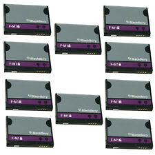 LOT OF 10 OEM F-M1 FM1 BATTERY FOR BLACKBERRY PEARL 3G 9100 9105 STYLE 9670