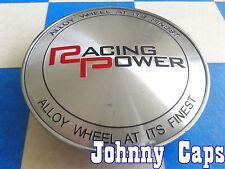 RACING POWER Wheels [73] CHROME Center Caps # 087 Custom Wheel Center Cap (1)