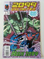2099 UNLIMITED #1 (1993) MARVEL COMICS GIANT-SIZE! 1ST APPEARANCE HULK 2099!