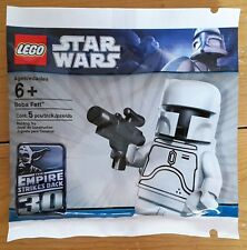 LEGO Star Wars White Boba Fett Polybag 2853835/4597068 - New, Sealed - Perfect!