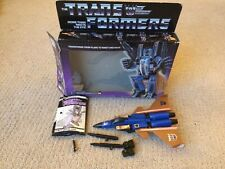 Transformers G1 Dirge Complete With Box 1985 Generation 1 Vintage Hasbro
