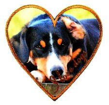 Applikation zum Aufbügeln , Bügelbild 2-701 Hund