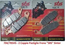 2 CP Pastiglie Freno Anteriori SBS Sinter per Kawasaki Vn 1500 Classic Tourer