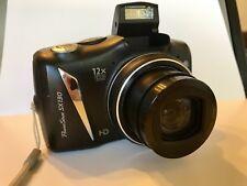Canon PowerShot SX130 IS 12.1MP Digital Camera - Black Gently Used. W/ 4Gb Chip