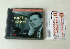 CHET BAKER - CHET IN PARIS VOL.2 - BOX 2 CD JAPAN W/OBI - FU