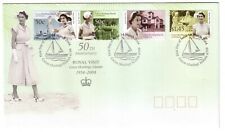 "2004 FDC Cocos (Keeling) Islands. Royal Visit 1954. ""Boat"" Pictorial PMK"