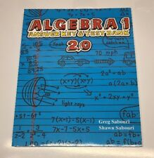 Teaching Textbooks Algebra 1 (2.0 Version) Answer Key And Test Bank Only