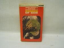 Nomads of Gor John Norman Ballantine Books, 1969 1st Edition Free Shipping