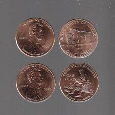 2009 P&D variety 1  &  2 ~GEM BRILLIANT UNCIRC ~ 4 pc Lincoln Cent Set -RS COINS