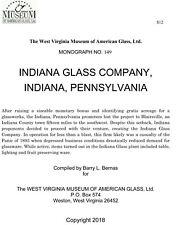 Indiana Pennsylvania Glass Company - Asa Neville - 1892-1893 - History