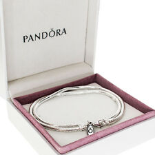 Genuine PANDORA Silver Necklace 590700HV (Diff. Sizes) WITH BOX - RRP £85