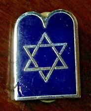 VINTAGE JEWISH RABBI CHAPLAIN SOUTH AFRICA ARMY SCARCE BADGE AFRICAN JUDAICA