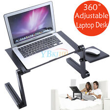 New Adjustable Portable Foldable Laptop Desk Computer Table Tray Bed Sofa Stand