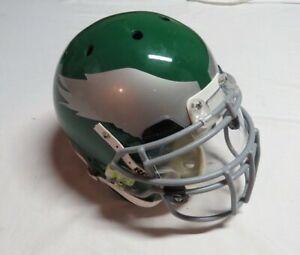 2010 Quintin Mikell Philadelphia Eagles Throwback Game Used Worn Football Helmet