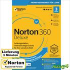 NORTON 360 Deluxe 2021 3 Geräte |PC,Mac,Android,iOS| Internet Security DE-Lizenz <br/> AUTHORISED RESELLER | ESD Versand @ 2 min | RECHNUNG |