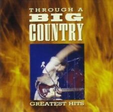 BIG COUNTRY : THROUGH A BIG COUNTRY  Hits CD Album (1990)