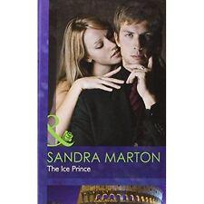 Sandra Marton__ The Glace Prince _ Mills & Boon _ Tout Neuf _ Livraison Gratuite