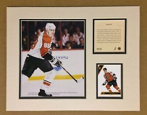Philadelphia Flyers ERIC LINDROS 1993 Hockey 11x14 MATTED Kelly Russell Print