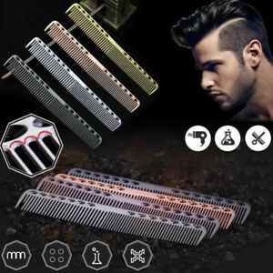 Aluminum Metal Cutting Comb Hair Hairdressing&Barbers Salon Professional Comb
