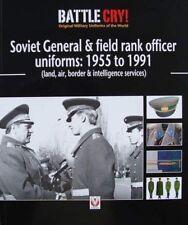 LIVRE : SOVIET OFFICER UNIFORM/UNIFORME OFFICIER SOVIETIQUE  1955 to 1991