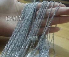 GNAYY 10meter Lot stainless steel Smooth Chain Jewelry Finding DIY 1.8mm Thin