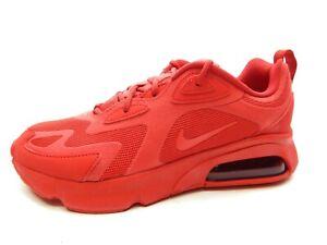 NIKE AIR MAX 200 CU4875 600 UNIVERSITY RED SNEAKER WOMEN SHOES