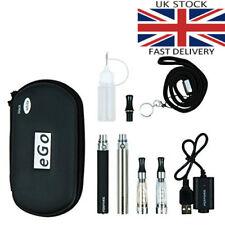 2x E Cigarette CE4 1100 mAh Rechargeable Battery Full Kit Gift Pack