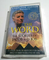 Charlton Heston Presents - THE WORD The stories of Jacob and Job - Cassette Tape