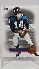 Y.A. Tittle 2012 topps QB Immortals Insert #QI-YAT New York Giants