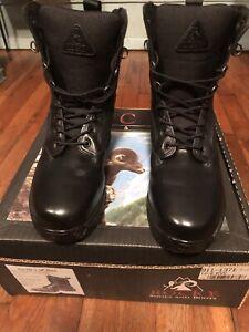 "Rocky Black 10"" Boots Model 911-1371"
