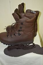 British Army MTP Altberg Defender Brown Combat Boots Size 7 W Wide Large