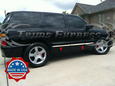 """2000-2006 Chevy Tahoe N/Flare Stainless Steel Flat Body Side Molding Trim 1.5"""""""