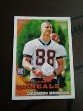 2010 Topps NFL Football #328 Dezmon Briscoe RC Cincinnati Bengals