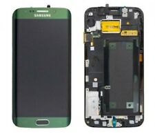 DISPLAY LCD VETRO TOUCH SCREEN PER SAMSUNG GALAXY S6 edge SM-G925f verde scuro