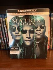 The Matrix Trilogy (4K Ultra Hd Uhd Blu-ray) Like New Free Shipping