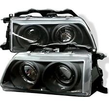 Spyder Auto 5010827 Halo Projector Headlights Fits 90-91 Civic CRX
