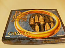 Lord of the Rings Return of the King Chess Set 2003 By Parker Brothers Blue Box
