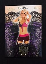 CRYSTAL HEFNER BENCHWARMER SIN CITY PLAYBOY LINGERIE #'d 10/21-GIRLS NEXT DOOR