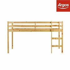 Kaycie 2ft6 Shorty Wooden Mid Sleeper Bed Frame - Pine