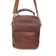 Dr. Koffer Small Single Compartment Crossbody Shoulder Leather Messenger Bag