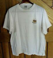 VTG Annie and the Tees T-shirt Nantucket Basket Sz L White w/ Earth Tones U.S.A.