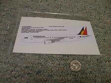 TwoSix decals 1/144 Set# 144-390 Philippines Airbus A320                     G93