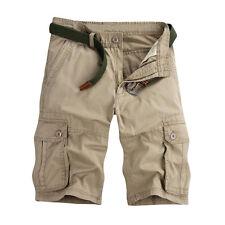 SALE Men's Combat Cotton Cargo Pants Military Camouflage Camo Trousers 6 Colors