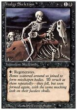 ▼▲▼ Squelettes serviles (Drudge Skeletons) 3eme BB BN #107 FRENCH Magic MTG