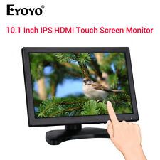 "EYOYO 10.1"" Touchscreen Monitor Display Support VGA USB HDMI for TV Security PC"