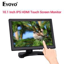 """Eyoyo 10.1"""" admite Pantalla Monitor de pantalla táctil VGA USB HDMI para PC TV de seguridad"""